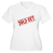 Sold Out Plus Size T-Shirt