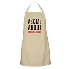 Cheerleading - Ask Me About Apron