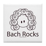 Bach Rocks Bach Tile Coaster