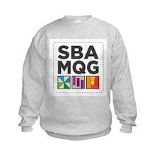 South Bay Area Modern Quilt Guild Logo Sweatshirt