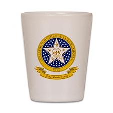 Oklahoma Seal Shot Glass