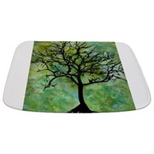 Watercolor Tree Bathmat