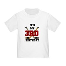 Hockey 3rd Birthday T
