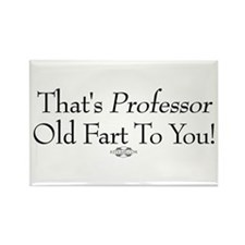 Professor Old Fart Rectangle Magnet (10 pack)