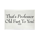 Professor Old Fart Rectangle Magnet