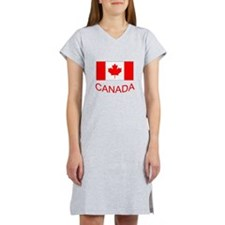 Canada flag and country name. Canada Day. Women's