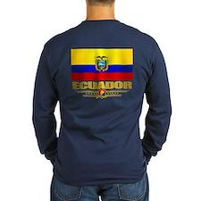 Flag Of Ecuador Long Sleeve T-Shirt