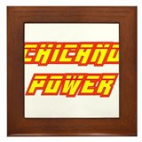 Chicano Power Streak Framed Tile