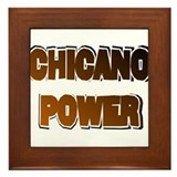 Chicano Power AdLib Framed Tile