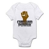 Chicano Power Fist Infant Bodysuit