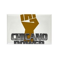 Chicano Power Fist Rectangle Magnet