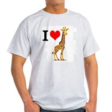 Cute Giraffes T-Shirt
