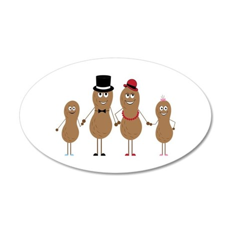 Peauts Family Wall Decal