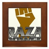 Raza Power Fist Framed Tile