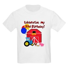 Farm 3rd Birthday T-Shirt