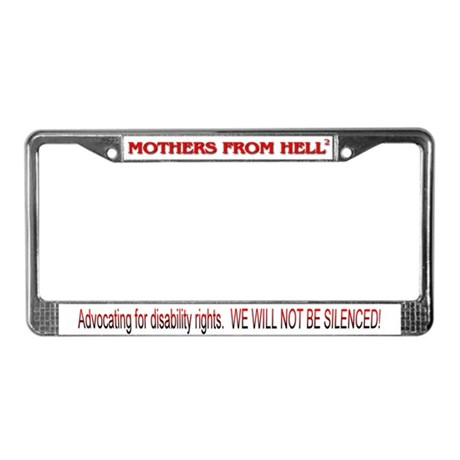 Mothers From Hell 2 License Plate Frame