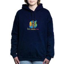 Live Laugh Love Explore Women's Hooded Sweatshirt