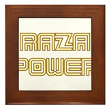 Raza Power Undercover Framed Tile