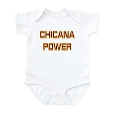 Chicana Power Trekker Infant Bodysuit