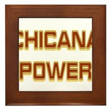 Chicana Power Trekker Framed Tile