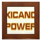 Xicano Power Trekker Framed Tile