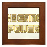 Xicano Power Undercover Framed Tile