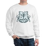 Gothic Birder Shield Sweatshirt