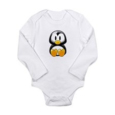 Tux Long Sleeve Infant Bodysuit