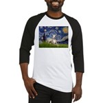 Starry Night Whippet Baseball Jersey