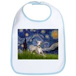 Starry Night Whippet Bib