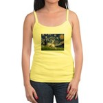 Starry Night Whippet Jr. Spaghetti Tank