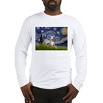 Starry Night Whippet Long Sleeve T-Shirt