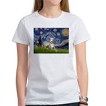 Starry Night Whippet Women's T-Shirt