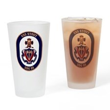 DDG-55 USS Stout Drinking Glass