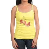 Mx-MoM Logo in Pink Ladies Top
