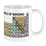 Periodic Table of Birding Mug