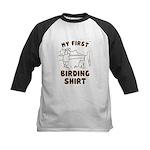 My First Birding Kids Baseball Jersey