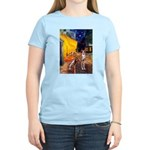Cafe & Whippet Women's Light T-Shirt