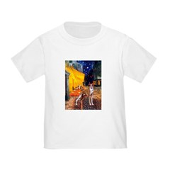 Cafe & Whippet Toddler T-Shirt