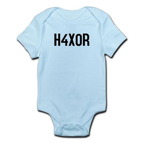 H4X0R Infant Bodysuit