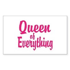 Queen of everything Decal