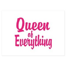 Queen of everything Invitations