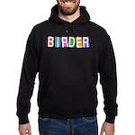 Retro-style Birder Hoodie (dark)