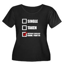 Crime Fighter Plus Size T-Shirt
