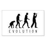 Evolution: Birder Sticker (Rectangle)