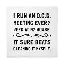 OCD Cleaning House Queen Duvet