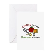 Sewing Forever Greeting Cards