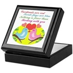 Birding With You Keepsake Box