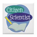 Citizen Scientist Tile Coaster