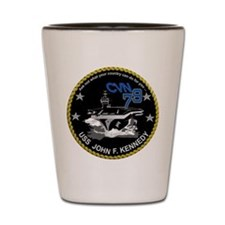 CVN 79 John F Kennedy Shot Glass